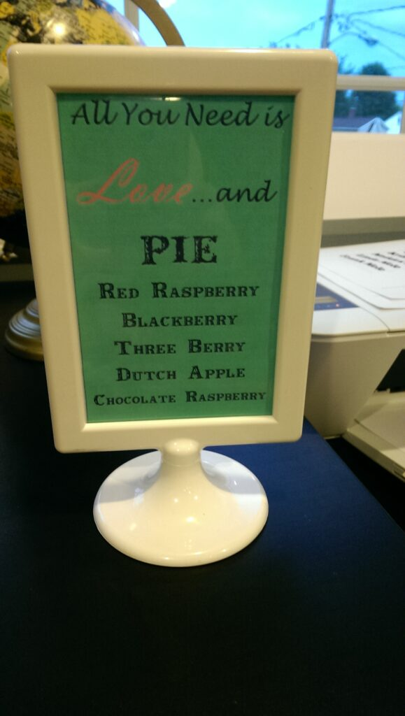 Love and Pie
