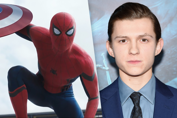 spiderman and tom holland