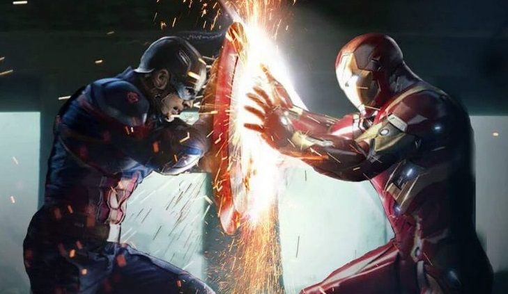 iron man vs cap